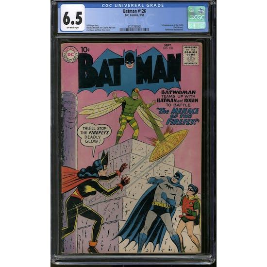 Batman #126 CGC 6.5 (OW) *3727787001*