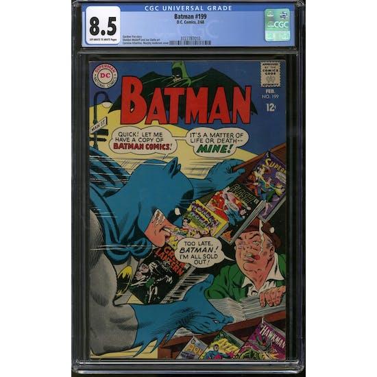 Batman #199 CGC 8.5 (OW-W) *3727787010*