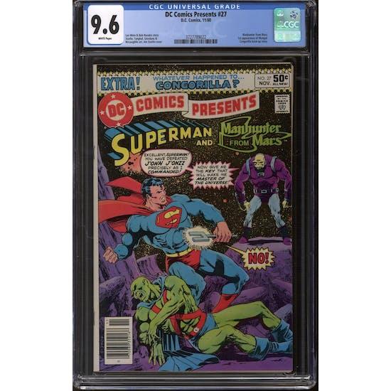 DC Comics Presents #27 CGC 9.6 (W) *3727789022*