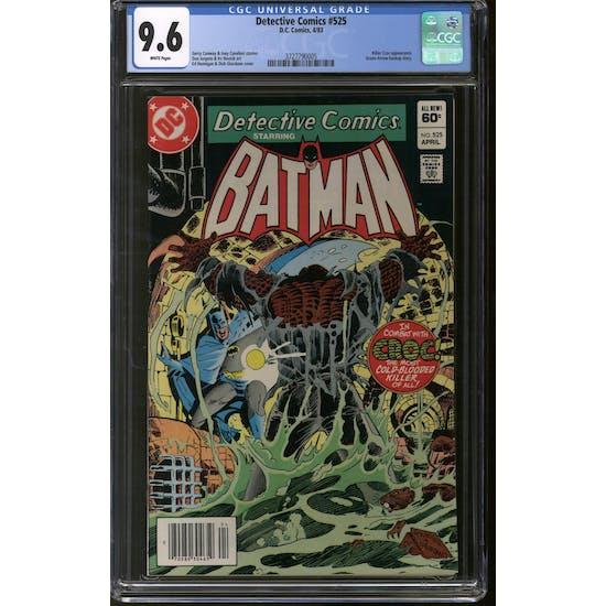Detective Comics #525 CGC 9.6 (W) *3727790005*