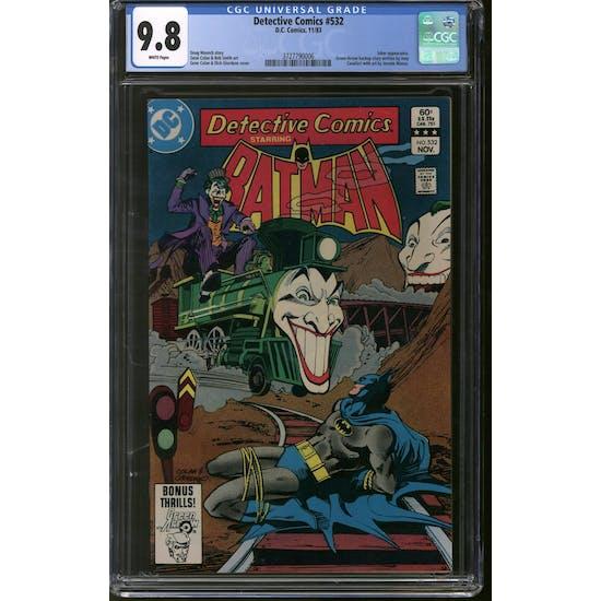 Detective Comics #532 CGC 9.8 (W) *3727790006*