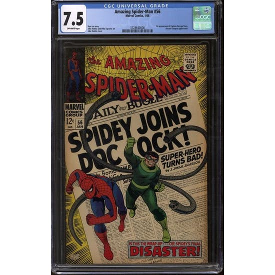 Amazing Spider-Man #56 CGC 7.5 (OW) *3728640008*
