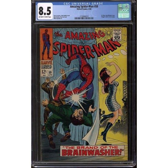 Amazing Spider-Man #59 CGC 8.5 (OW-W) *3728640010*