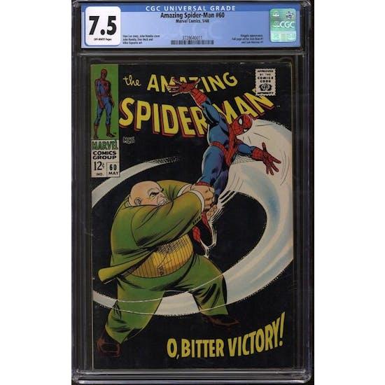 Amazing Spider-Man #60 CGC 7.5 (OW) *3728640011*