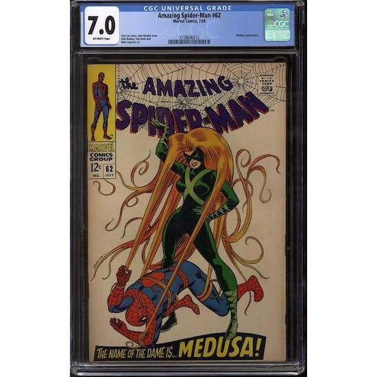 Amazing Spider-Man #62 CGC 7.0 (OW) *3728640013*