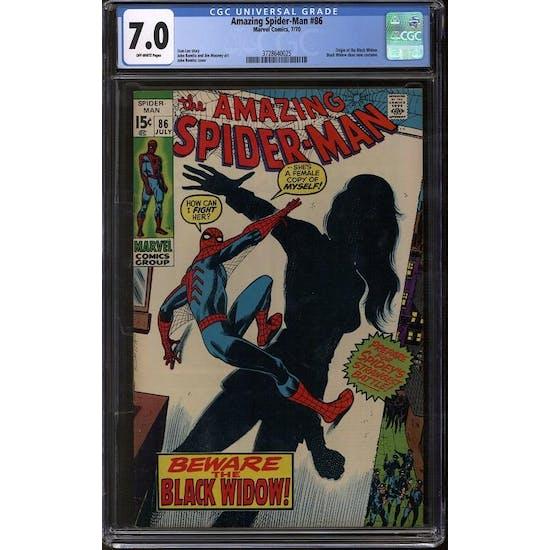 Amazing Spider-Man #86 CGC 7.0 (OW) *3728640025*