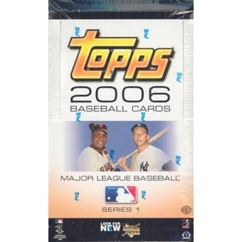 2006 Topps Series 1 Baseball Jumbo Box