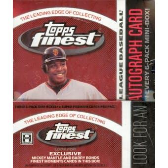2006 Topps Finest Baseball Hobby Box