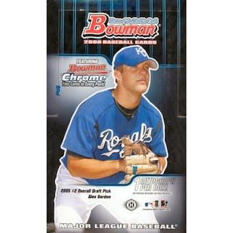 2006 Bowman Baseball Hobby Box
