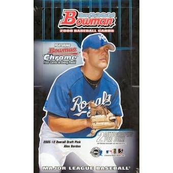 2006 Bowman Baseball Jumbo Box