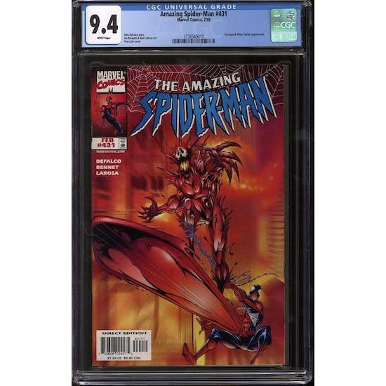 Amazing Spider-Man #431 CGC 9.4 (W) *3736549010*