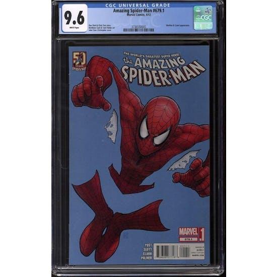 Amazing Spider-Man #679.1 CGC 9.6 (W) *3736550005*
