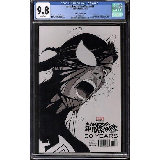 """Amazing Spider-Man #692 CGC 9.8 """"1980's"""" Variant *3736550008*"""