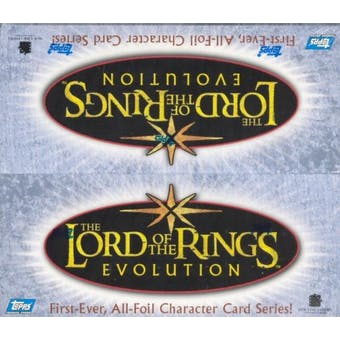 Lord of the Rings Evolution Hobby Box (2006 Topps)