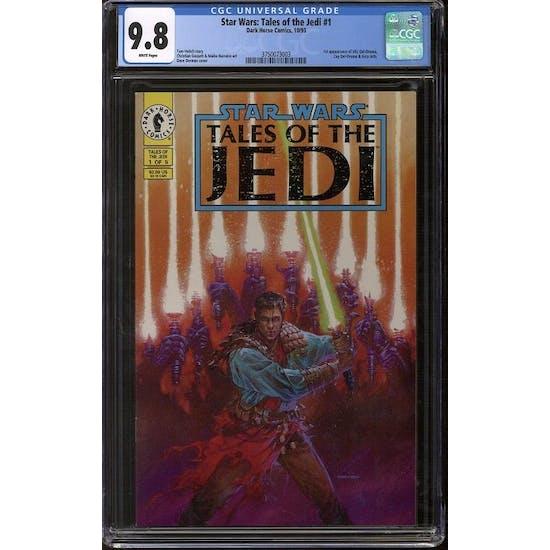Star Wars: Tales Of The Jedi #1 CGC 9.8 (W) *3750073003*
