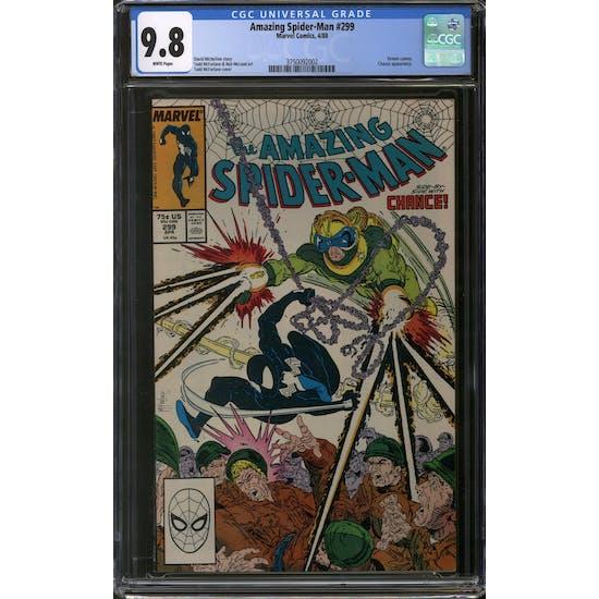 Amazing Spider-Man #299 CGC 9.8 (W) *3750092002*