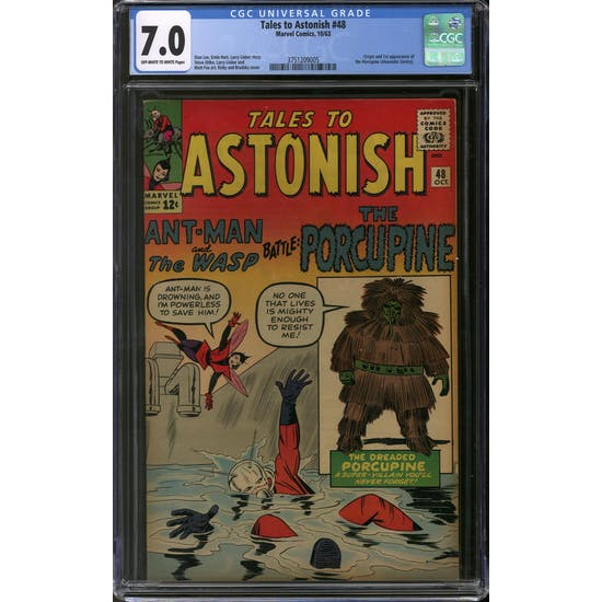Tales to Astonish #48 CGC 7.0 (OW-W) *3751209005*