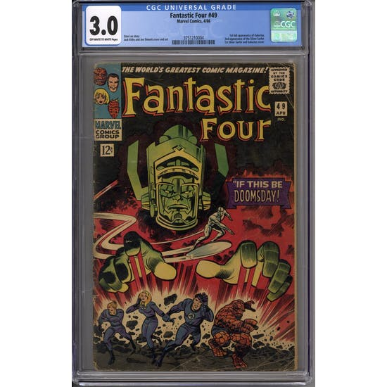 Fantastic Four #49 CGC 3.0 (OW-W) *3751210004*