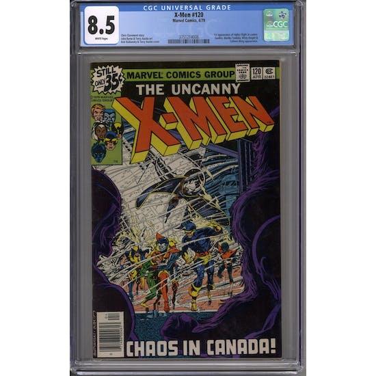 X-Men #120 CGC 8.5 (W) *3751214006*