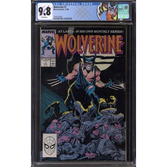 Wolverine #1 CGC 9.8 (W) *3755215002*
