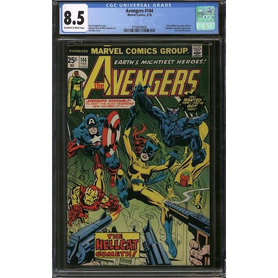 Avengers #144 CGC 8.5 (OW-W) *3756009008*