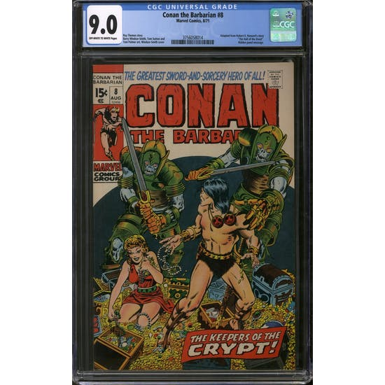 Conan the Barbarian #8 CGC 9.0 (OW-W) *3756058014*