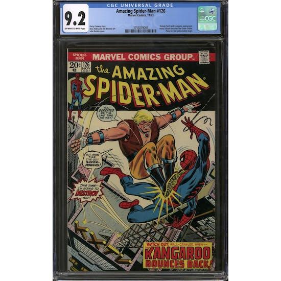 Amazing Spider-Man #126 CGC 9.2 (OW-W) *3756059006*