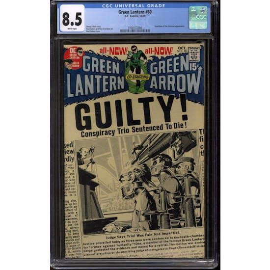 Green Lantern #80 CGC 8.5 (W) *3756172006*
