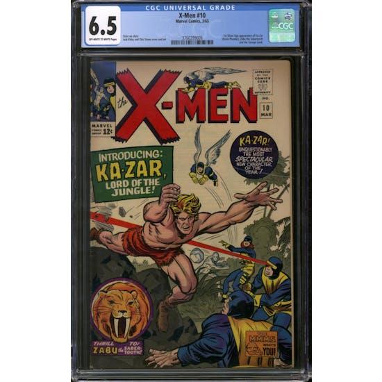 X-Men #10 CGC 6.5 (OW-W) *3760299009*