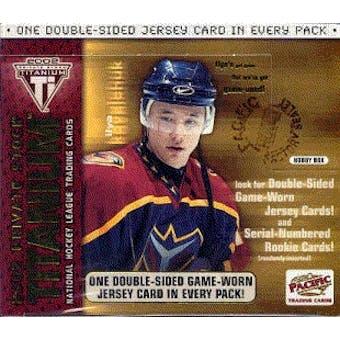 2001/02 Pacific Titanium Hockey Hobby Box