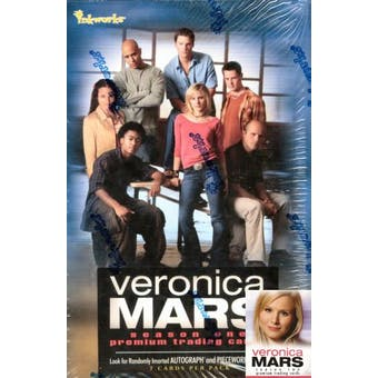 Veronica Mars Season One Trading Cards Hobby Box (2006 Inkworks)
