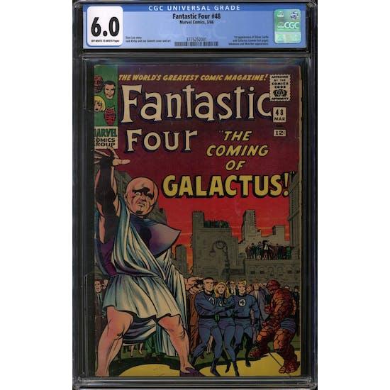 Fantastic Four #48 CGC 6.0 (OW-W) *3775252001*