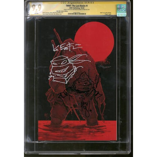 TMNT: The Last Ronin #1 CGC 9.9 (W) Signed & Sketch By Kevin Eastman & Ben Bishop *3780205001*