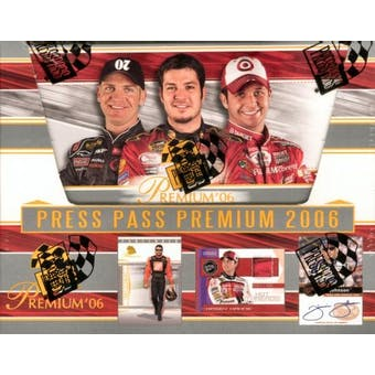 2006 Press Pass Premium Racing Hobby Box