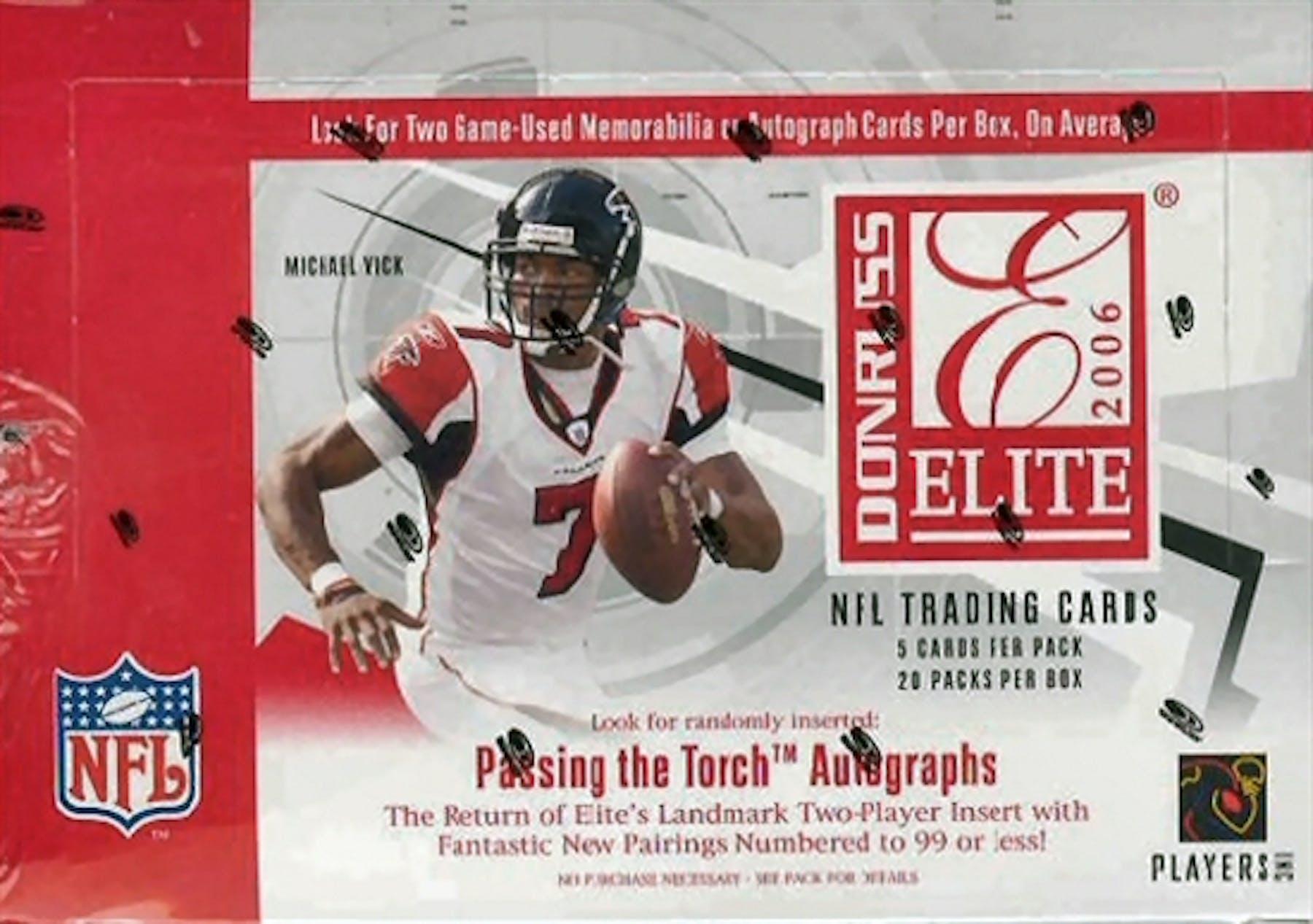 4b3b294fc 2006 Donruss Elite Football Hobby Box | DA Card World