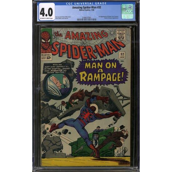 Amazing Spider-Man #32 CGC 4.0 (OW-W) *3788037001*