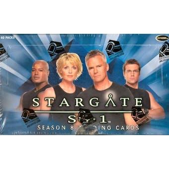 Stargate SG-1 Season 8 Trading Cards Box (Rittenhouse 2006)