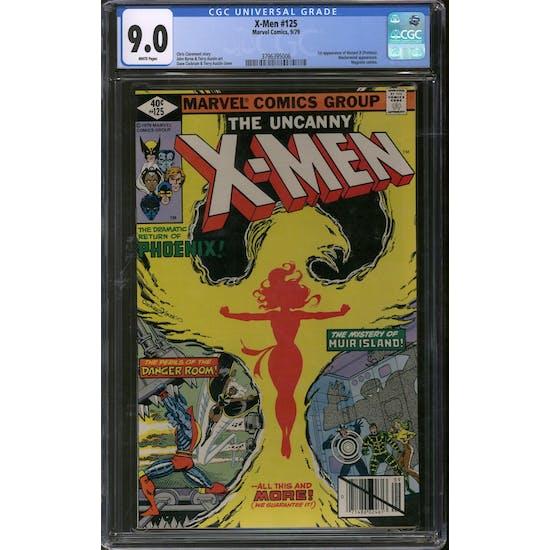 X-Men #125 CGC 9.0 (W) *3796395006*