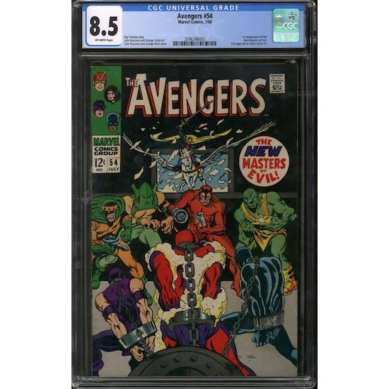Avengers #54 CGC 8.5 (OW) *3796396003*