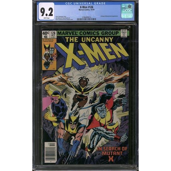 X-Men #126 CGC 9.2 (W) *3796400014*