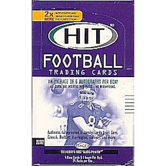 2002 Sage Hit Football Hobby Box