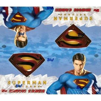 Superman Returns Movie Card Hobby Box (2006 Topps)