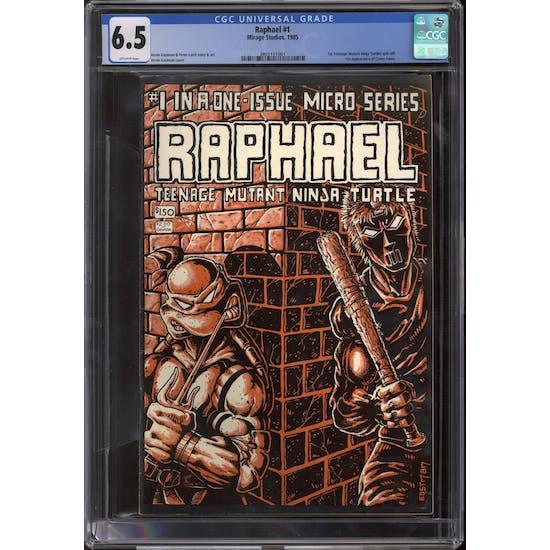 Raphael #1 CGC 6.5 (OW) *3805111001*