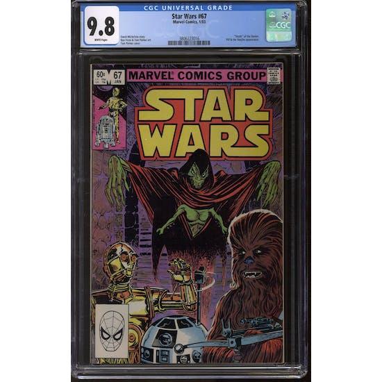 Star Wars #67 CGC 9.8 (W) *3806223016*