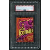 1973 Topps Football Wax Pack PSA 9 (MINT)