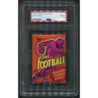 1973 Topps Football Wax Pack PSA 9 (MINT)