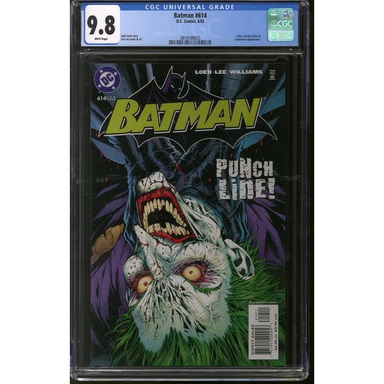 Batman #614 CGC 9.8 (W) *3810198025*