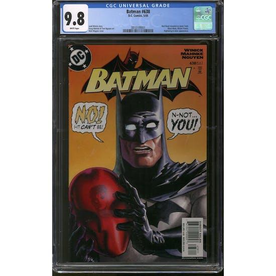 Batman #638 CGC 9.8 (W) *3810199001*