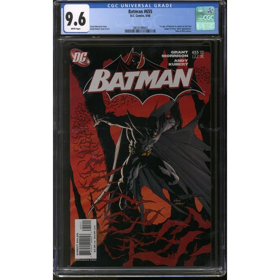Batman #655 CGC 9.6 (W) *3810199003*