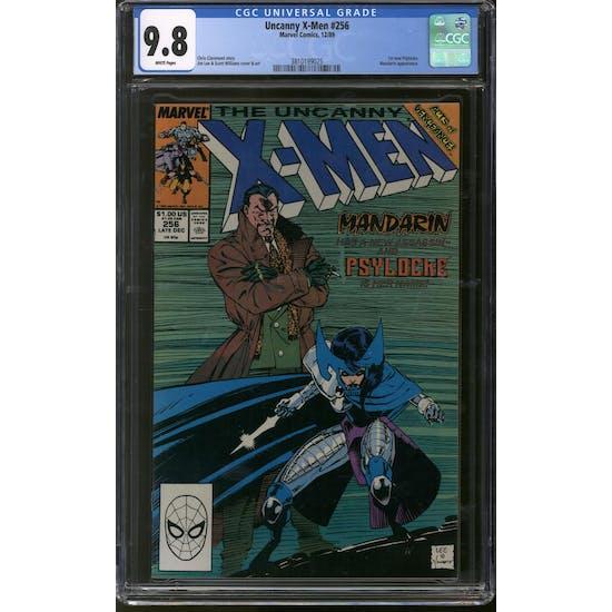 Uncanny X-Men #256 CGC 9.8 (W) *3810199025*